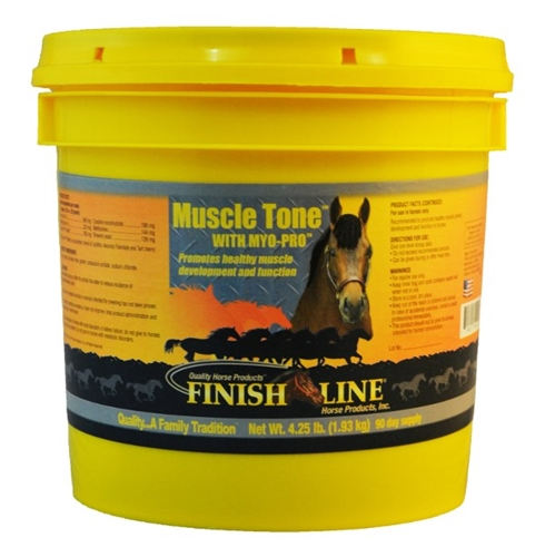 A combination of strength exercises and supplements is the best way to enhance your horse's muscle tone. ,Use Muscle Tone to help support your horse's muscle health.