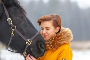 Equine-assisted therapy has been found to help teens struggling with emotional or behavioral issues.