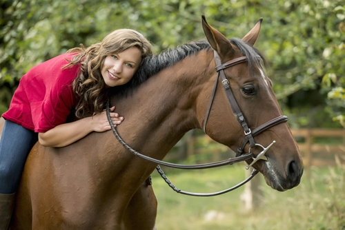 Horses can make excellent therapy animals for children and the elderly alike.