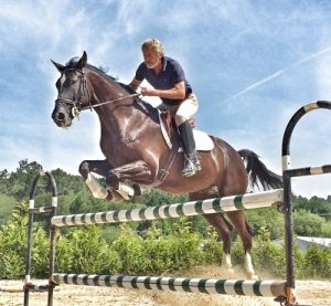 Anhidrosis, an inability to sweat, severely compromises performance horses.