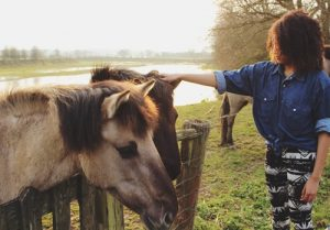 Kids can learn responsibility and other life lessons from riding horses.