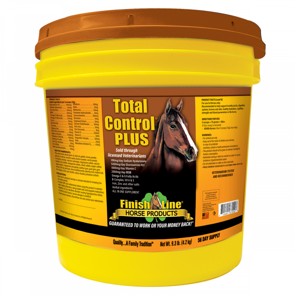 Finish Line All In one Horse Supplement with bleeder help