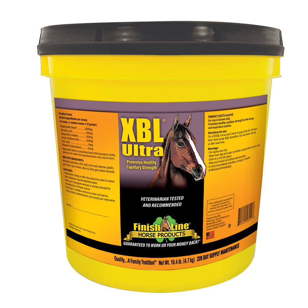 Helps with Race Horses that are Bleeders