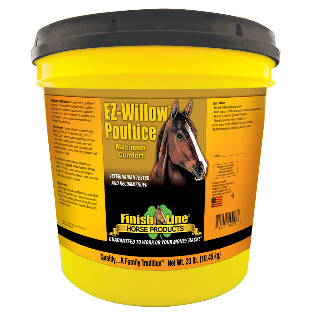 Medicated Poultice Finish Line EZ Willow