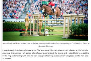 Margie Engle Chronicle of the Horse