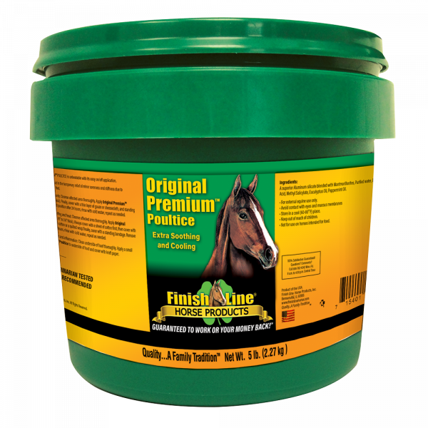 The most used horse poultice