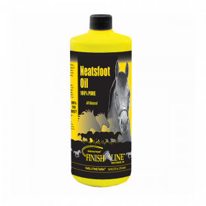 Neatsfoot oil for horse tack