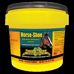 Hoof supplement for horses with biotin