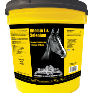 Vitamin E and Selenium for horses