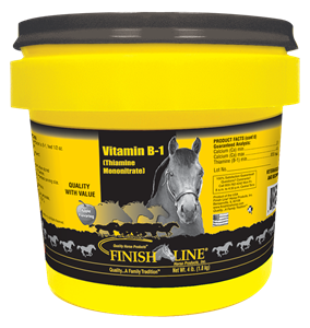 Vitamin B1 for horses