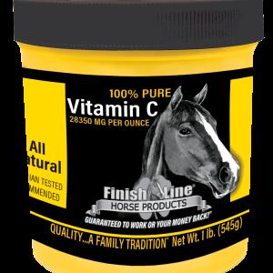 Vitamin C for horses