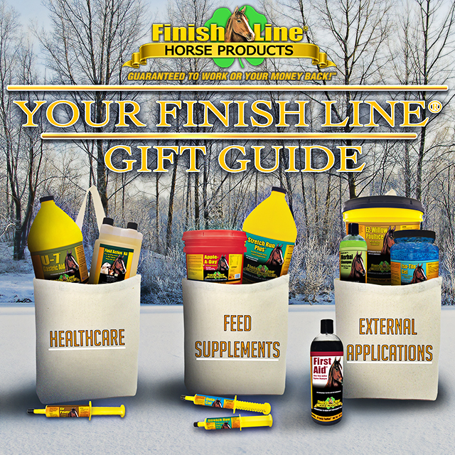 Your Finish Line Horse Products Holiday Gift Guide