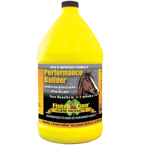 Performance Builder muscle supplement for horses