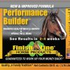 Performance Builder muscle supplement label