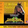 EZ Willow Poultice label