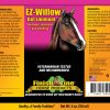 EZ Willow Gel Liniment label