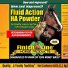 Fluid Action HA Powder label