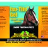 Iso-Tite Gel liniment label