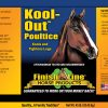 Kool Out Poultice label