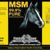 MSM horse label