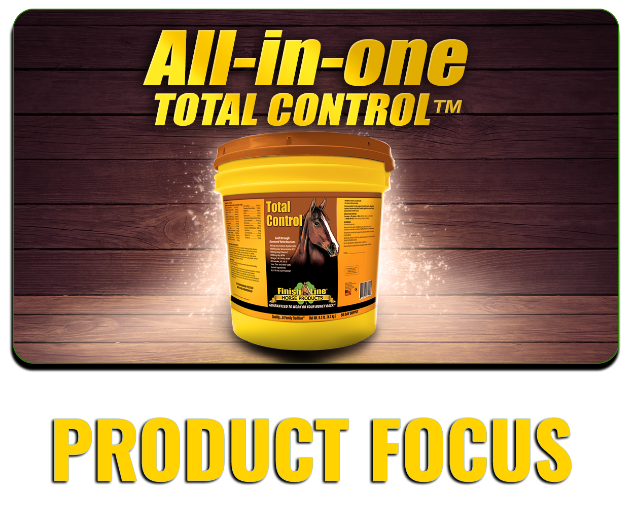Finish Line® Horse Products | Quality Horse Supplements and Equine