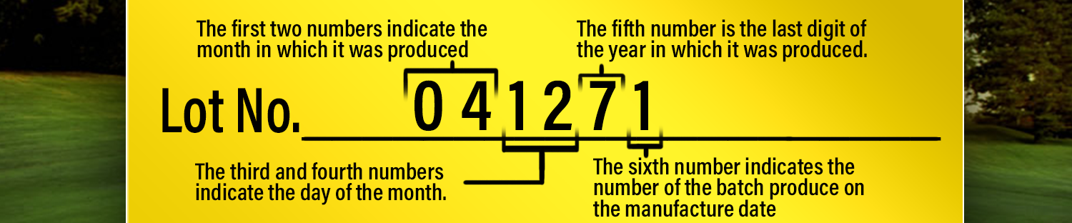 Lot numbers