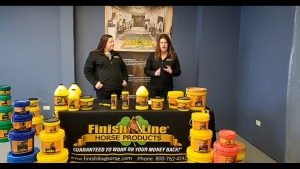 Finish Line Horse Products Facebook live march blog